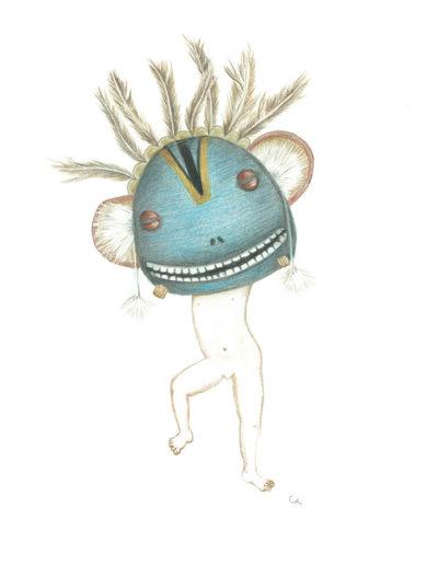 figure-masquée- bleue
