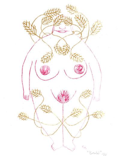 bôbo-déesse mythologique